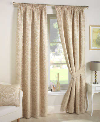 How to make curtains like this - Pic of ready made curtains at Terry's fabrics