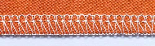 Overlock Stitch Sample