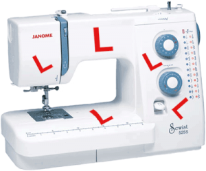 Janome-525S - Recommended for best beginner sewing machine