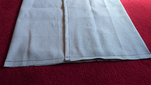 Envelope Cushion Cover stitching it up